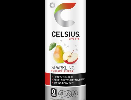"""Celsius Announces Launch of Newest Flavor """"Sparkling Fuji Apple Pear"""""""